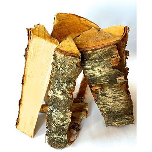 Timbertote 075 Cubic Feet Natural Hardwood Mix Fire Log Firewood Bundle for Fireplaces Campfires Firepits 0 2