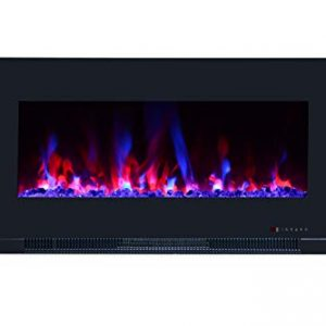 Touchstone ValueLine 10 Color Recessed Wall Electric Fireplace 42 Inches 0