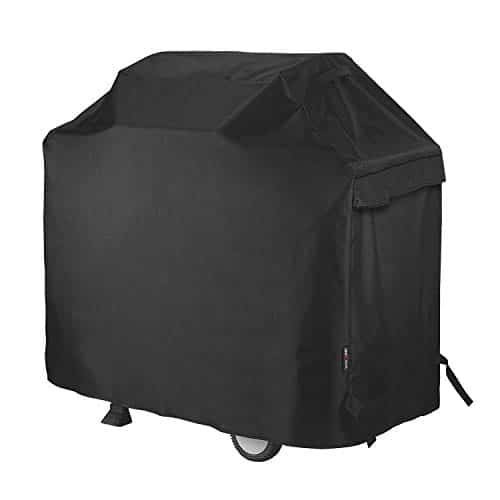 Unicook Heavy Duty Waterproof Barbecue Gas Grill Cover Small 50 inch BBQ Cover Special Fade and UV Resistant Material Fits Grills of Weber Char Broil Nexgrill Brinkmann and More 50W x 22D x 40H 0