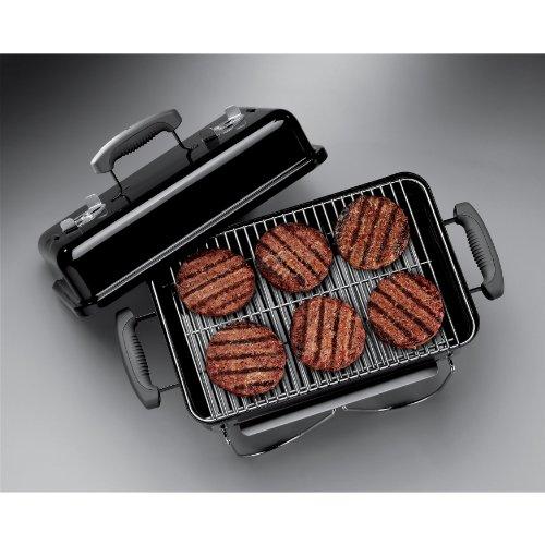 Weber 121020 Go Anywhere Charcoal GrillBlack145 H x 21 W x 1225 L 0 0