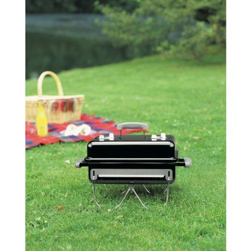 Weber 121020 Go Anywhere Charcoal GrillBlack145 H x 21 W x 1225 L 0 2