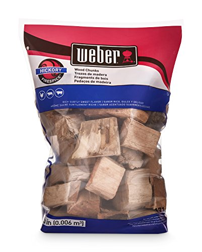 Weber 17148 Hickory Wood Chunks 350 cu in 0006 Cubic Meter 4 lb 0 0