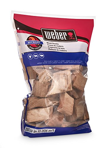 Weber 17148 Hickory Wood Chunks 350 cu in 0006 Cubic Meter 4 lb 0 1