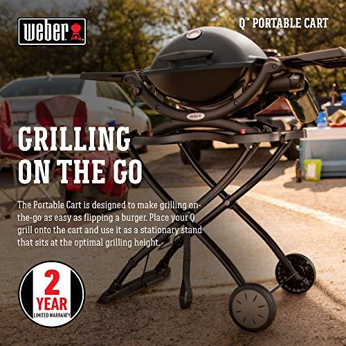 Weber 6557 Q Portable Cart 282 x 21 x 25 Black 0 1