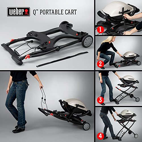 Weber 6557 Q Portable Cart 282 x 21 x 25 Black 0 3