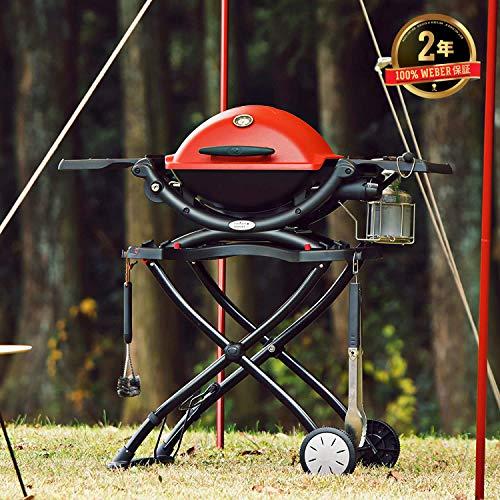 Weber 6557 Q Portable Cart 282 x 21 x 25 Black 0 4