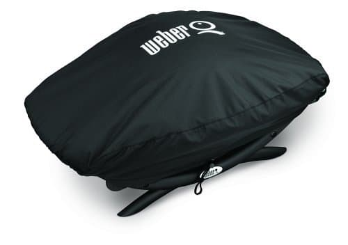 Weber 7111 Grill Cover for Q 2002000 Series Gas GrillsBlack 0 0