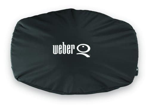 Weber 7111 Grill Cover for Q 2002000 Series Gas GrillsBlack 0 2