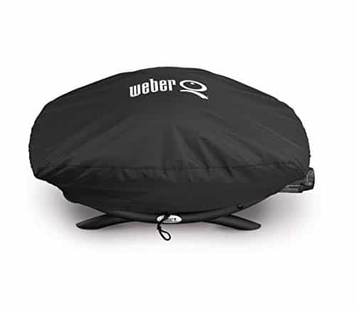 Weber 7111 Grill Cover for Q 2002000 Series Gas GrillsBlack 0