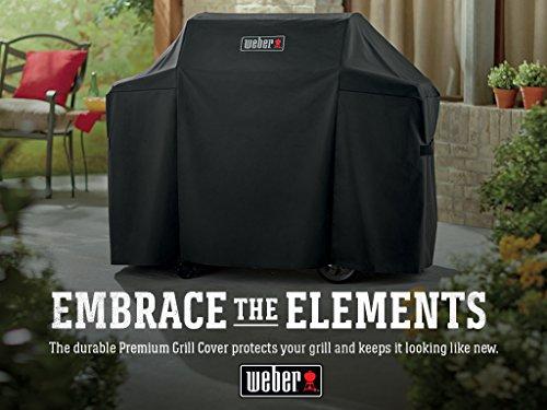 Weber 7130 Genesis II Cover Black 0 2