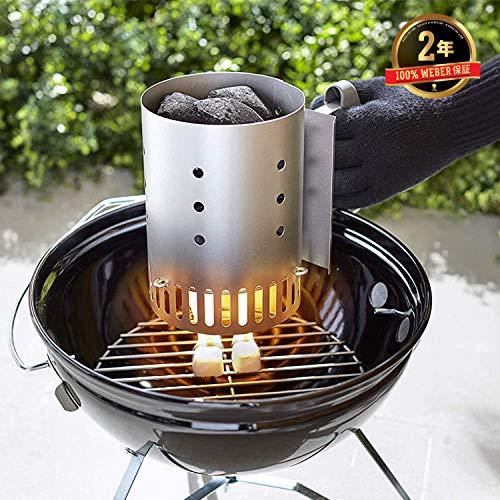 Weber 7447 Compact Rapidfire Chimney Starter 0 1