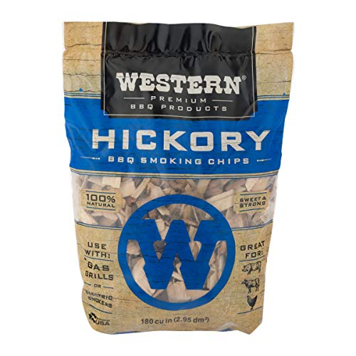Western BBQ Smoking Wood Chips Variety Pack Bundle 4 Apple Mesquite Hickory and Cherry Flavors 0 2