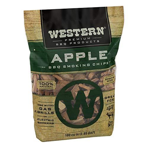 Western Premium BBQ Smoking Chips Apple BBQ 0 0