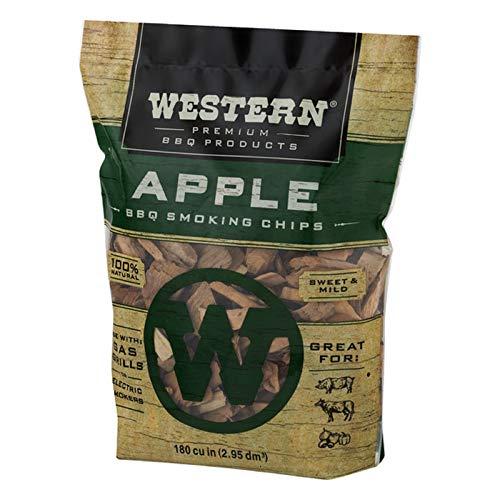 Western Premium BBQ Smoking Chips Apple BBQ 0 1
