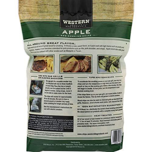 Western Premium BBQ Smoking Chips Apple BBQ 0 2