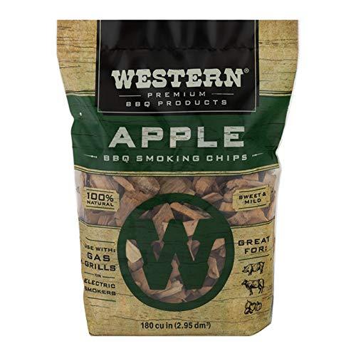 Western Premium BBQ Smoking Chips Apple BBQ 0