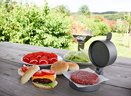 Weston Burger Express Hamburger Press With Patty Ejector 07 0310 W Makes 4 12 Patties 14Lb To 34Lb 0 1