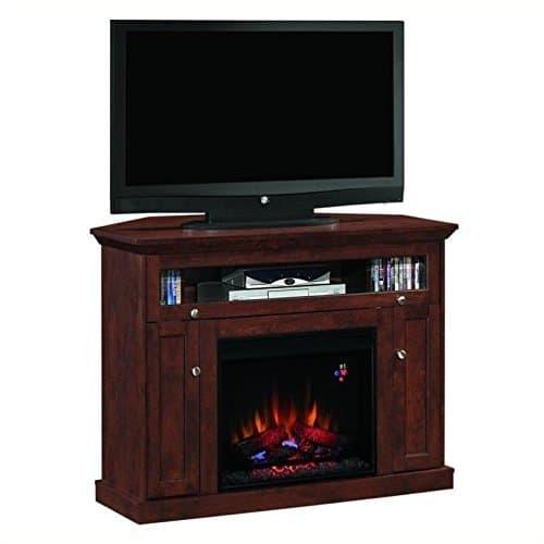 Windsor Corner Infrared Electric Fireplace Media Cabinet 23DE9047 PC81 0 0