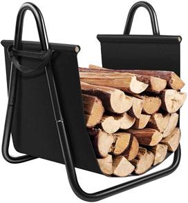 Amagabeli Fireplace Log Holder