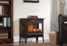 Duraflame fireplace